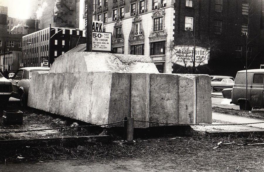 Chiếc xe bê tông vào năm 1970. Ảnh: David Katzive