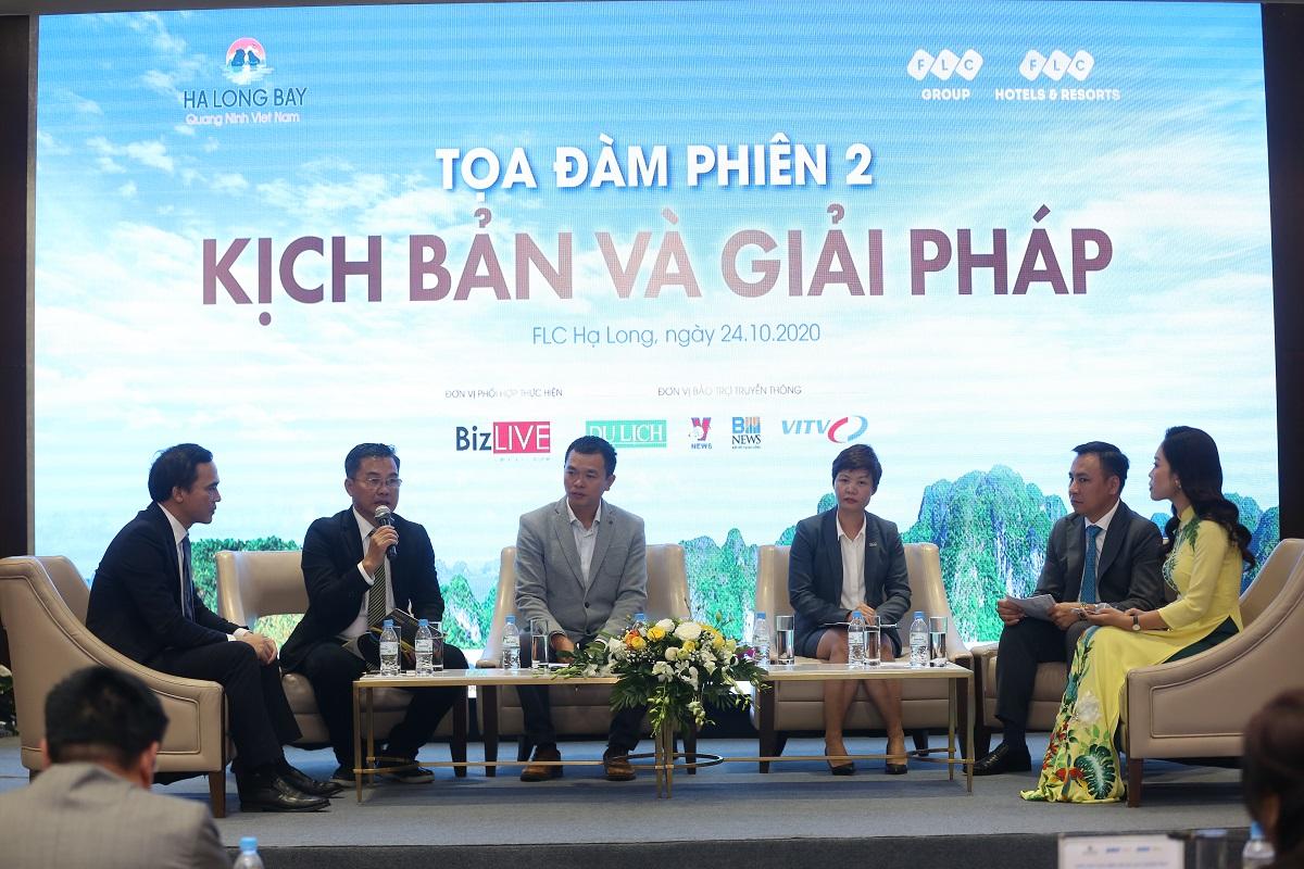 Các chuyên gia du lịch luận bàn giải pháp đưa du lịch Quảng Ninh bứt phá.