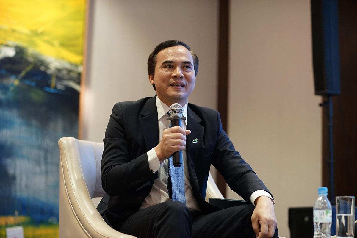 Ông Nguyễn Mạnh Quân, Phó Tổng Giám đốc thường trực Hãng hàng không Bamboo Airways.
