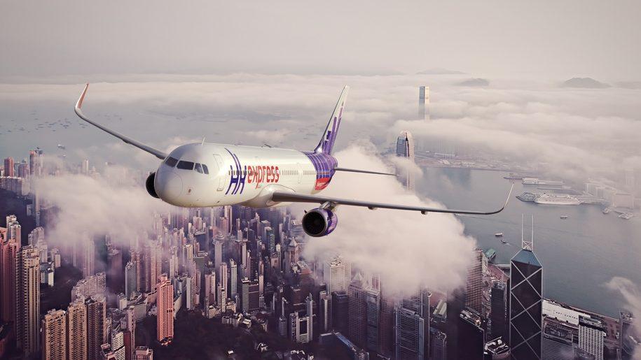 Chuyến bay vòng quanh Hong Kong trong 75 phút. Ảnh: Business Traveller