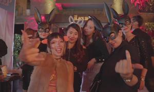 Giới trẻ Hà Nội 'hoá thú' trong đêm Halloween