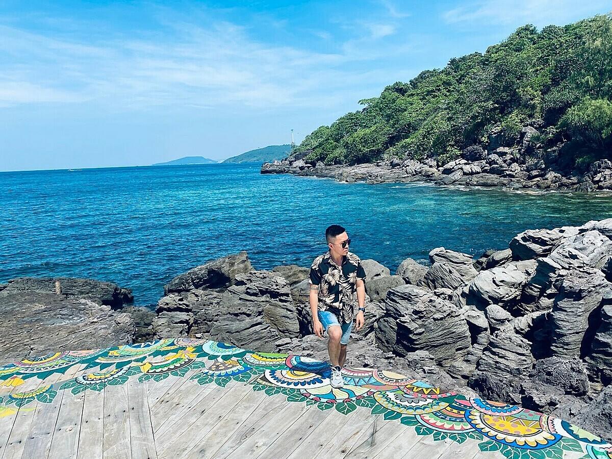 Vlogger Hoàng Nam lặn ngắm san hô ở Phú Quốc - 8