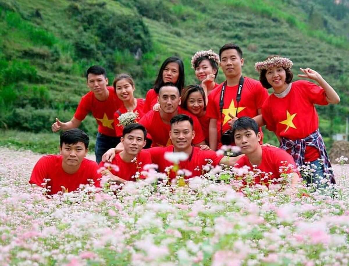 Hàng năm, Hà Giang thu hút khách du lịch nhờ Lễ hội hoa tam giác mạch. Ảnh: Nguyễn Tùng
