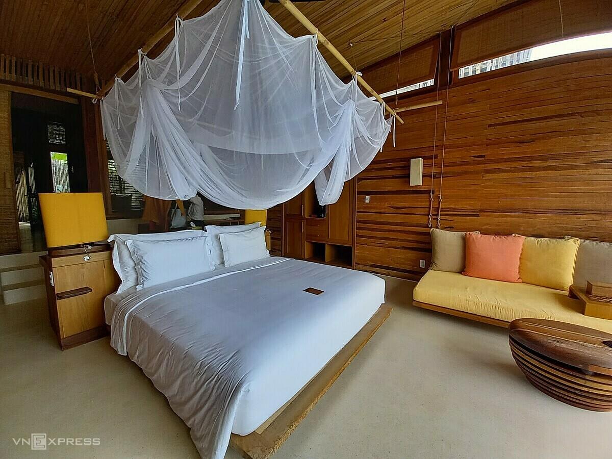 Dp du du lịch quốc tế đóng băng, phòng khách sạn đẳng cấp 5 sao quốc tế tại Six Sense Côn Đảo khiến đây sẽ là điểm đến mới được ưa chuộng của nhóm khách khá giả tại Việt Nam. Ảnh: Khánh Trần