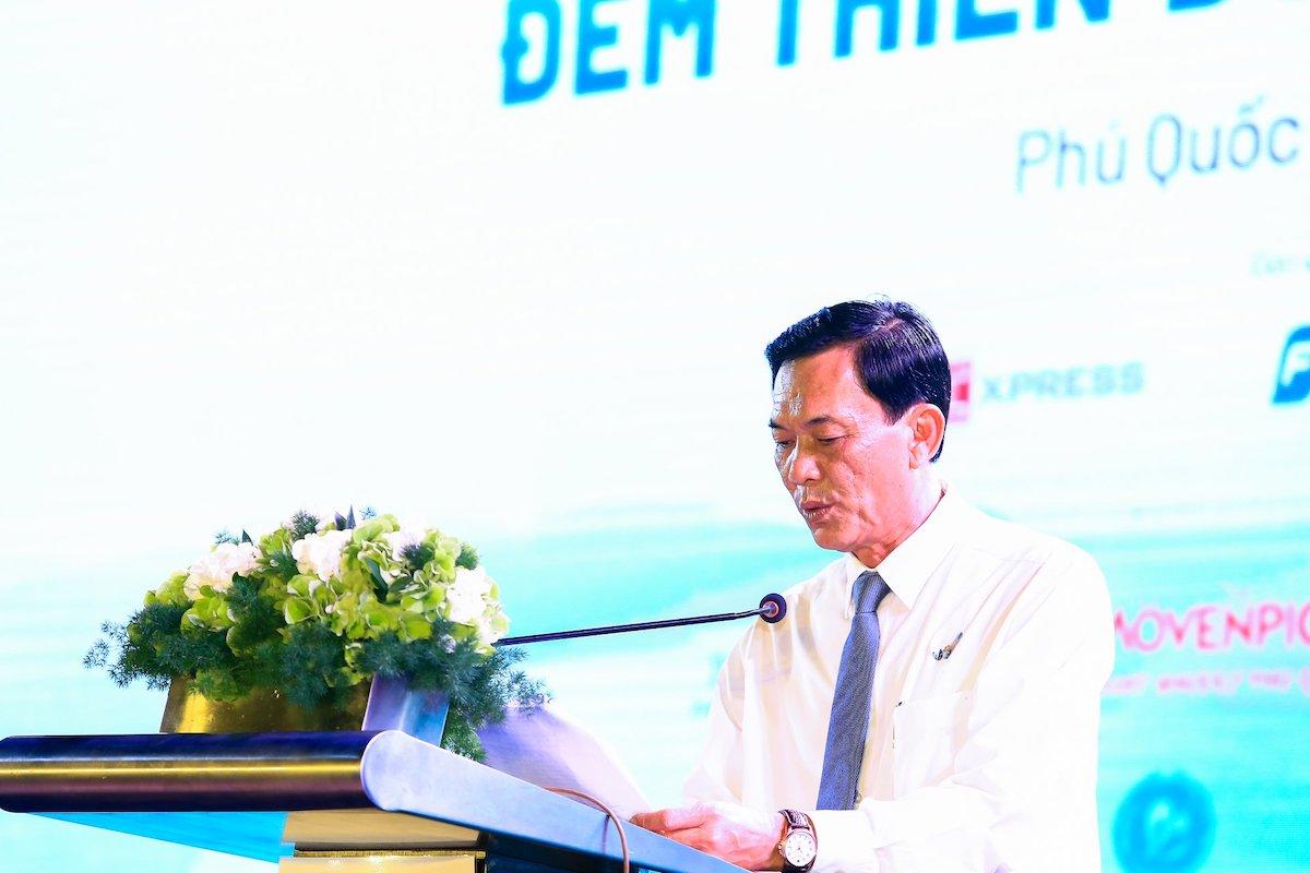 Ông Trần Trí Dũng, Giám đốc Sở Du lịch Kiên Giang chia sẻ doanh thu từ du lịch Kiên Giang năm 2020 giảm hơn 12.200 tỷ đồng. Ảnh: Thiên Di.