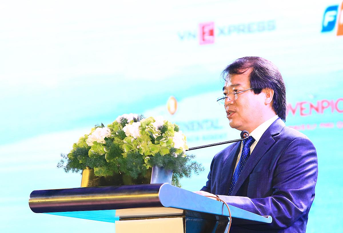 ông Hà Văn Siêu, Phó Tổng cục trưởng Tổng cục Du Lịch, kích cầu nội địa là cứu cánh của ngành du lịch Việt Nam hiện nay. Ảnh: Thiên Di.
