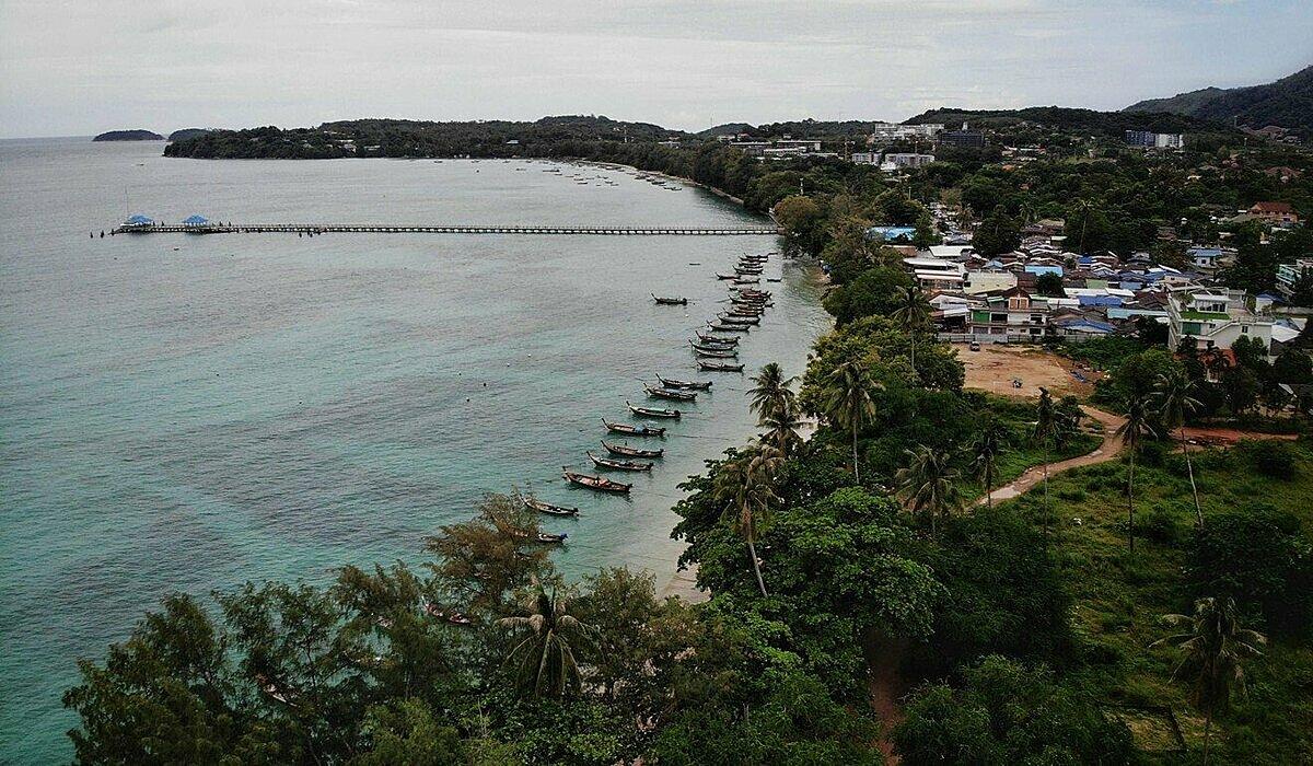Đất của người Chao Lay thuộc khu vực bãi biển Rawai. Ảnh: AFP