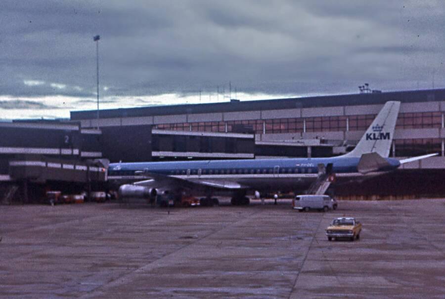 Chiếc Douglas DC-8 đỗ tại sân bay Sydney, 2 năm sau cái chết của Keith. Ảnh: All thats interesting