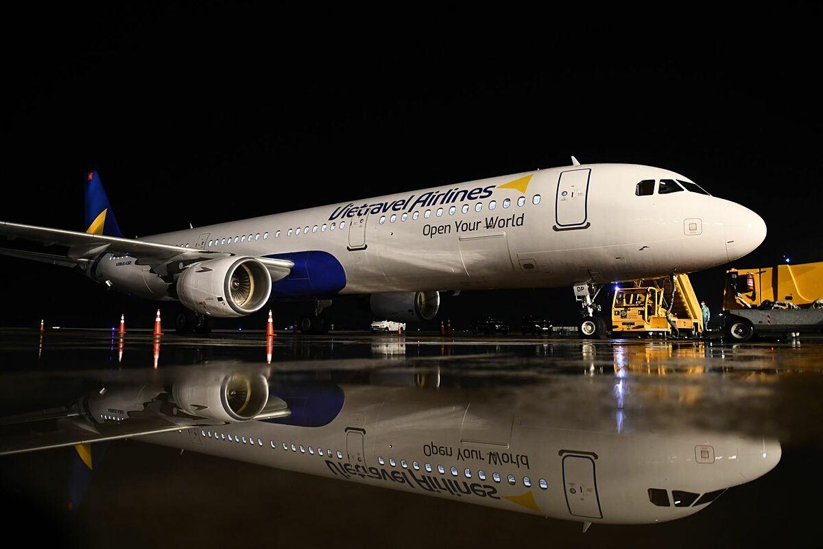 Vietravel Airlines đón tàu bay đầu tiên - VnExpress Du lịch