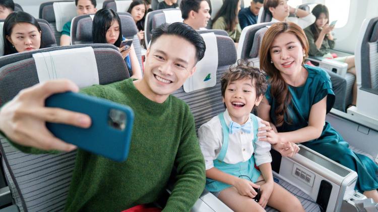 Chương trình Vạn chuyến bay - Triệu nụ cười của Bamboo Airways thay lời tri ân khách hàng dịp cuối năm. Ảnh: Bamboo Airways.