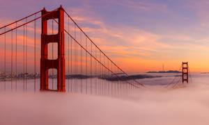 Cầu Cổng Vàng - kỳ quan trên mây của nước Mỹ