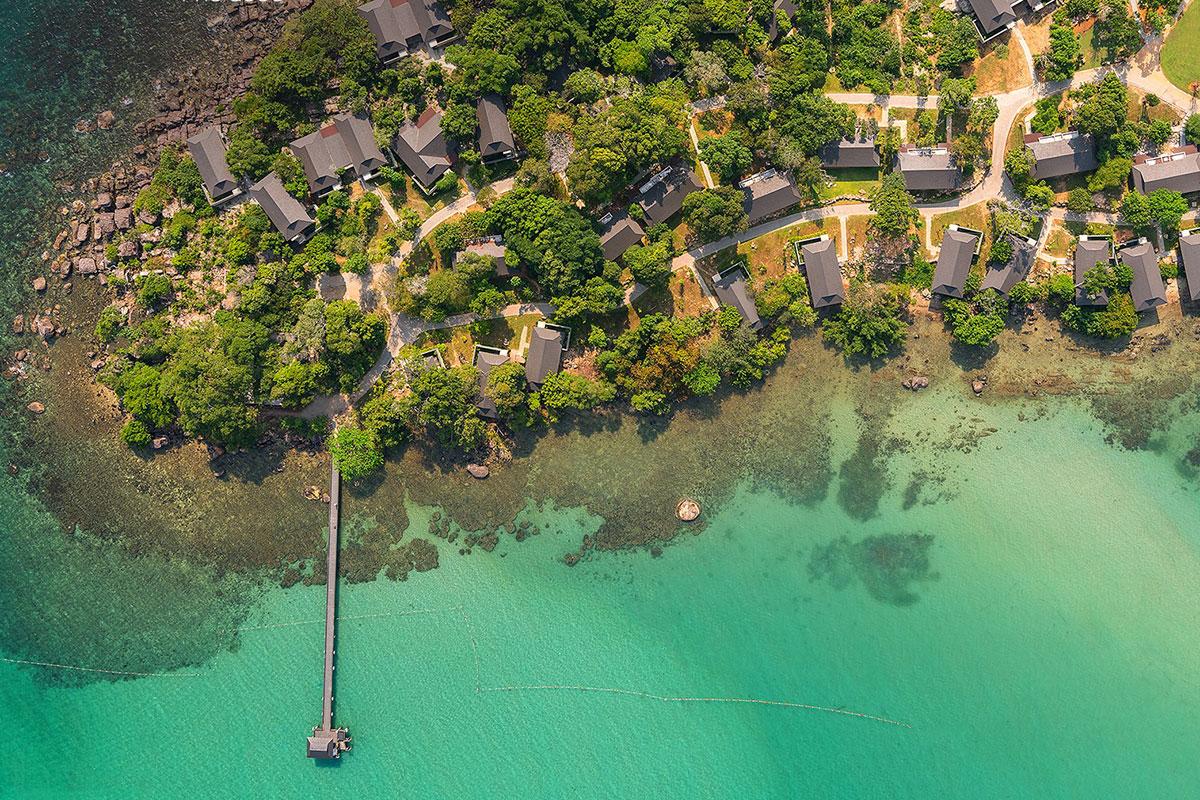 Không gian Nam Nghi Coral Peninsula Phu Quoc, một trong những đối tác chiến lược của nền tảng trao đổi kỳ nghỉ.