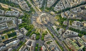 Nơi 12 đại lộ giao nhau tại Paris