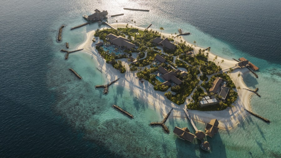 Hòn đảo nghỉ dưỡng có tên gọi Ithaafushim thuộc resort Waldorf Astoria có giá 80.000 USD một đêm, với sức chứa 24 khách trong ba biệt thự trên diện tích 32.000 m2.