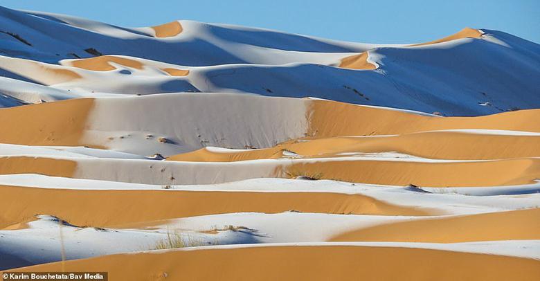 Bao phủ hầu hết Bắc Phi, sa mạc Sahara rộng 9,2 triệu km2 - tương đương nước Mỹ. Nó đã trải qua những biến đổi về nhiệt độ và độ ẩm trong hàng trăm nghìn năm qua.
