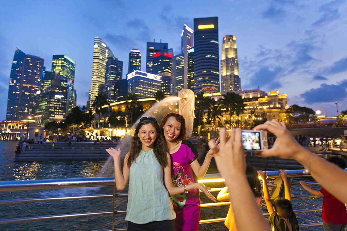 Singapore là một trong những điểm đến quen thuộc với du khách Việt. Ảnh: Tourism Information & Services Hub