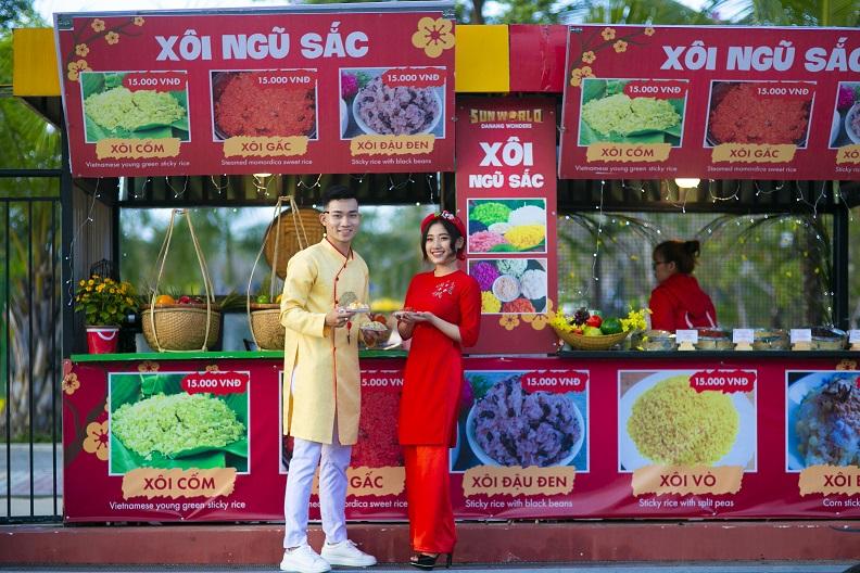 Hơn 100 gian hàng với nhiều món ngon đặc trưng từ Hàn Quốc, Trung Quốc, Nhật Bản... sẽ diễn ra trong không gian rộng mở, ngập tràn sắc xuân tại công viên châu Á- Asia Park. (nguồn ảnh)