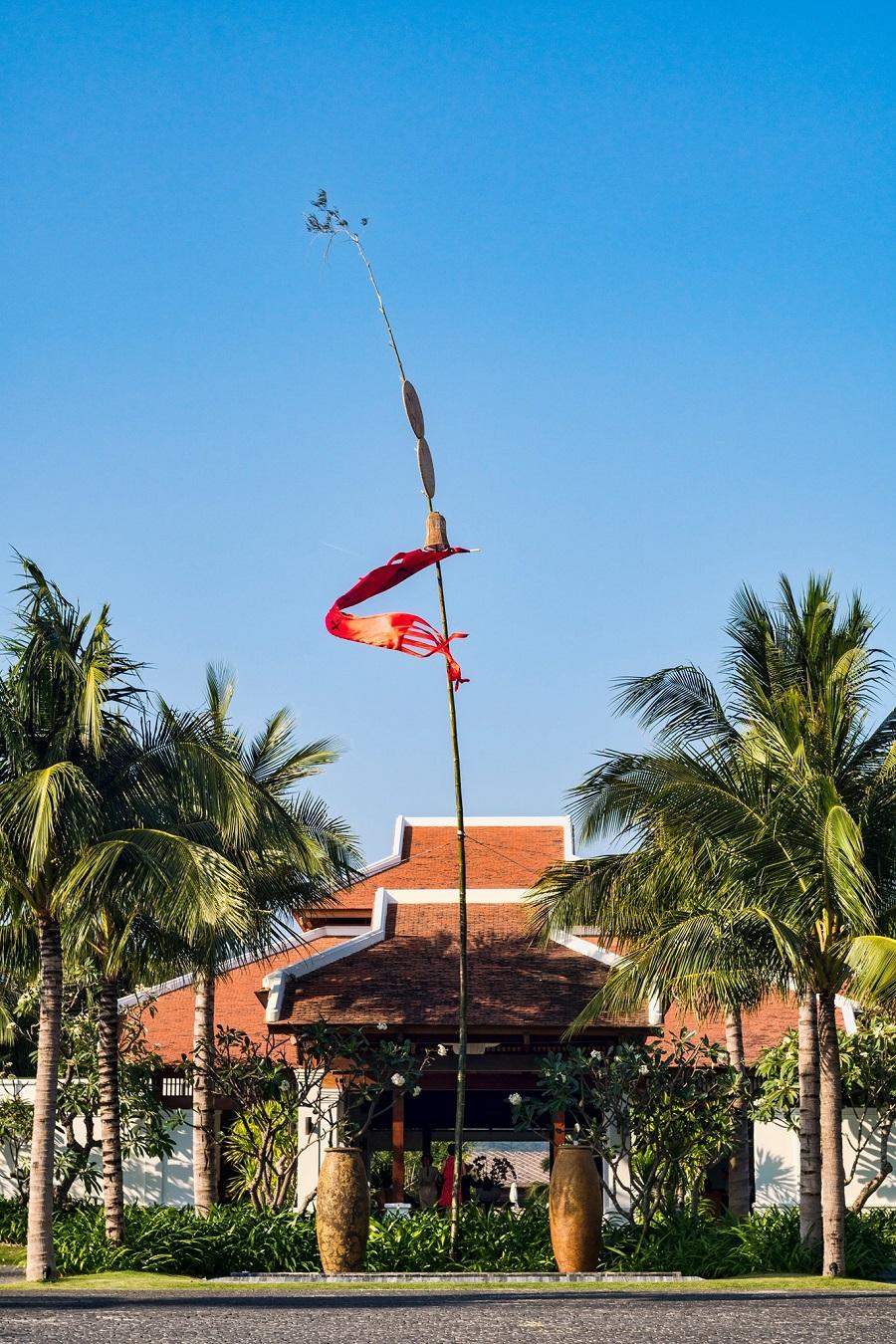 Nghi lễ trồng cây nêu sẽ được tổ chức tại khu nghỉ dưỡng vào 4/2. Ảnh: The Anam.