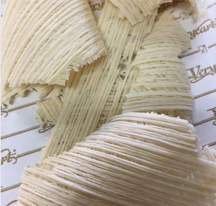 Những sợi mì có độ mỏng bằng một phần hai mì thiên thần. Ảnh: Gianluco Pino Chef/Instagram