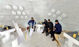 Quán cà phê lều băng lớn nhất châu Á