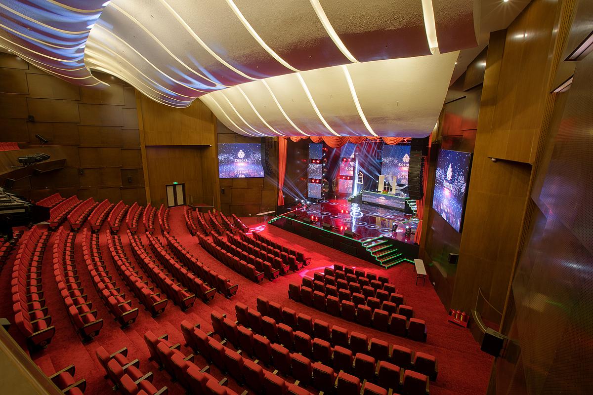 Nhà hát Corona có trang thiết bị hiện đại. Ảnh: Corona Phú Quốc.