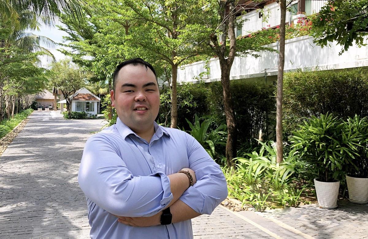Ye Chang Sheng (Peter) tới Việt Nam làm việc từ năm 2016 và đón 5 cái Tết tại đây. Ảnh: NVCC.