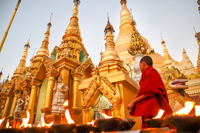 Nơi đây là điểm đến hành hương Phật giáo quan trọng nhất của đất nước. Ảnh: Nothing Familiar