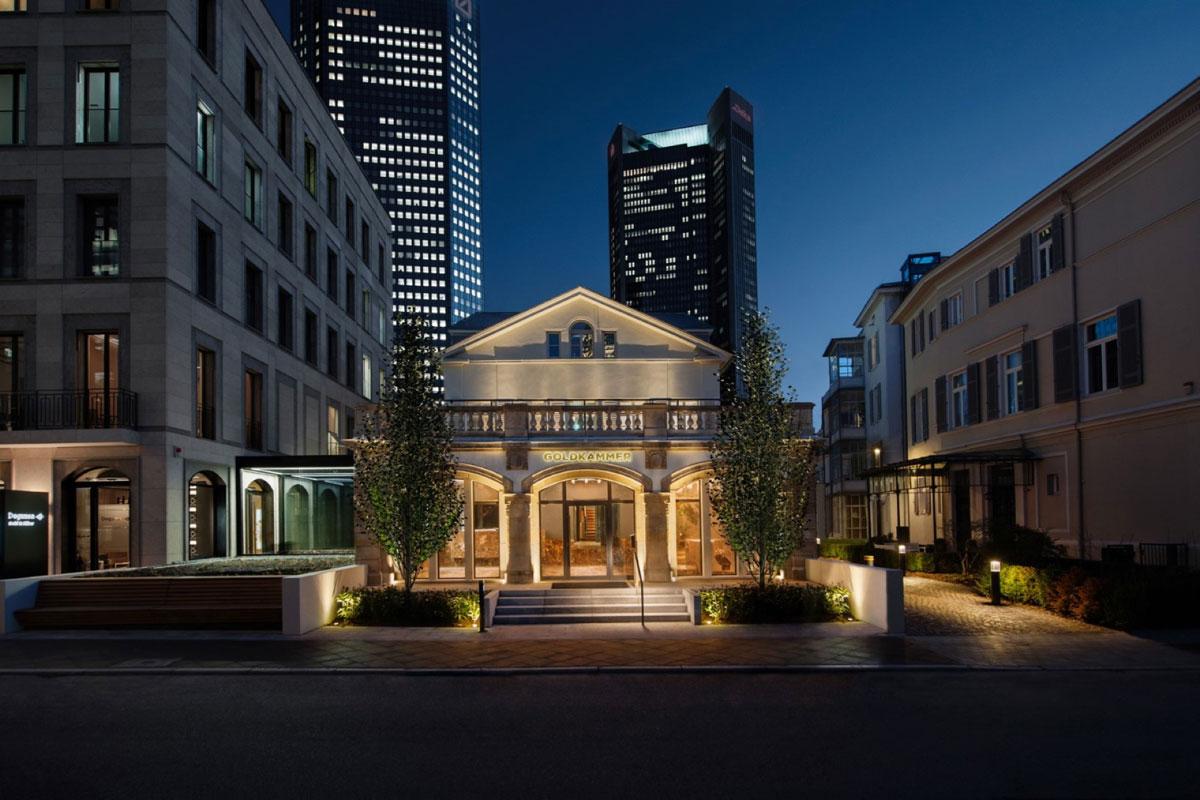 Goldkammer, Frankfurt, Đức  Goldkammer là một bảo tàng nằm dưới lòng đất, được thiết kế như một mỏ vàng. Nó được thiết kế và xây dựng trong vòng 4 năm, mở cửa đón khách từ 2019. Ảnh: Floornature