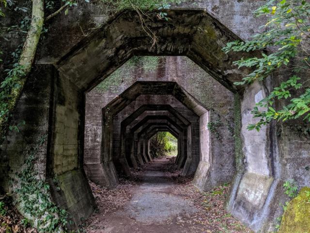 Đường hầm nổi tiếng với người dân thị trấn Misato, nhưng mới được biết đến như một địa điểm du lịch trong vài năm trở lại đây. Đối với những người mê điện ảnh, đường hầm này quen thuộc, giống như tàu vũ trụ trong các bộ phim khoa học viễn tưởng Mỹ. Ảnh: SoraNews24