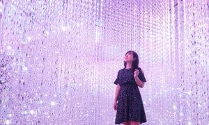 Mê cung ánh sáng kỳ ảo tại Sài Gòn