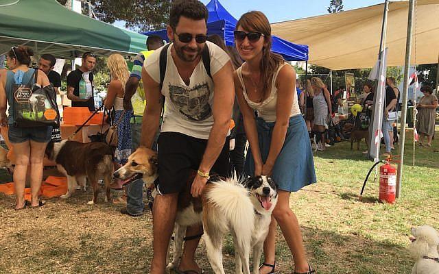 Nơi dành cho người yêu chóTel Aviv là thành phố có số lượng chó trên bình quân đầu người cao nhất thế giới khi cứ 17 người thì lại có 1 con chó, Đây cũng là nơi có 4 bãi biển thân thiện với chó và 70 công viên dành cho chó, tức là có một công viên như vậy trên mỗi km vuông. Thành phố cũng đã tổ chức lễ hội dành cho chó tên là Kelaviv kết hợp từ Tel Aviv và kelev (trong tiếng Do Thái, kelev nghĩa là chó). Ảnh: Andrew Tobin / JTA