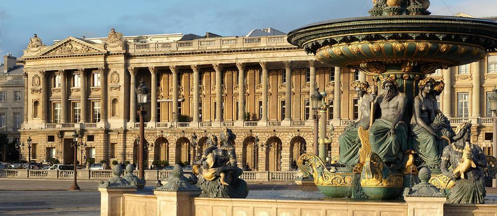 Khách sạn Hôtel de Crillon - nơi diễn ra phi vụ động trời. Ảnh: Le Point