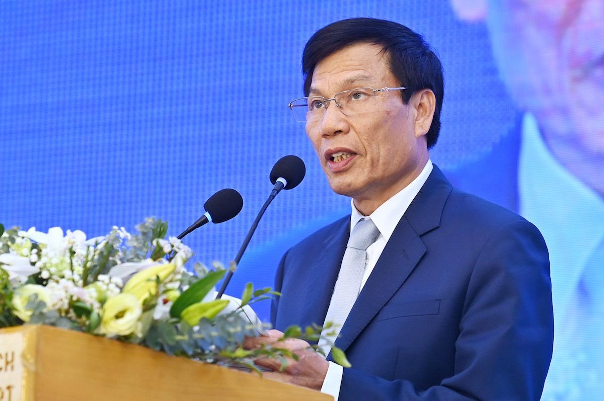 Ông Nguyễn Ngọc Thiện - Bộ trưởng Bộ Văn hoá Thể thao và Du lịch.