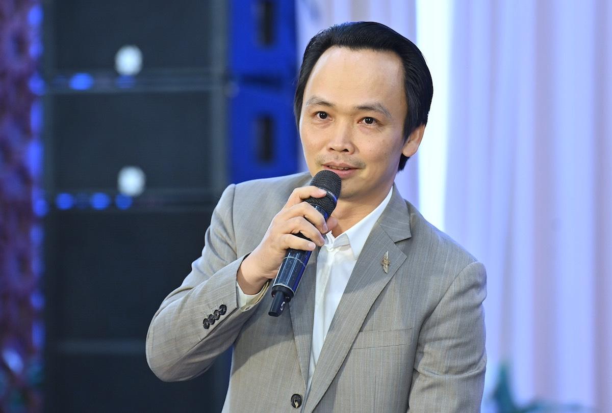 Ông Trịnh Văn Quyết, Chủ tịch Tập đoàn FLC.