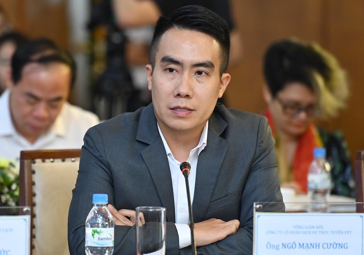Ông Ngô Mạnh Cường – Tổng giám đốc Công ty Cổ phần Dịch vụ Trực tuyến FPT (FPT Online). Ảnh: Giang Huy