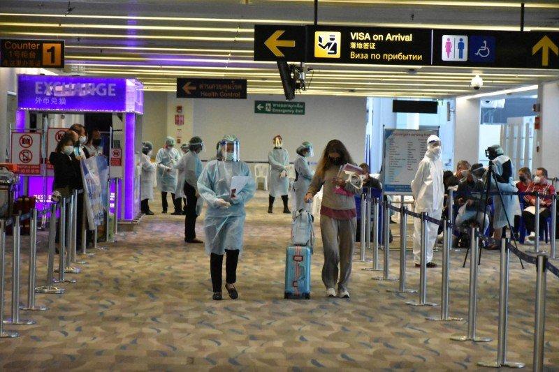 Sân bay Phuket chính thức mở cửa từ 0h ngày 1/4. Ảnh: AoT Phuket