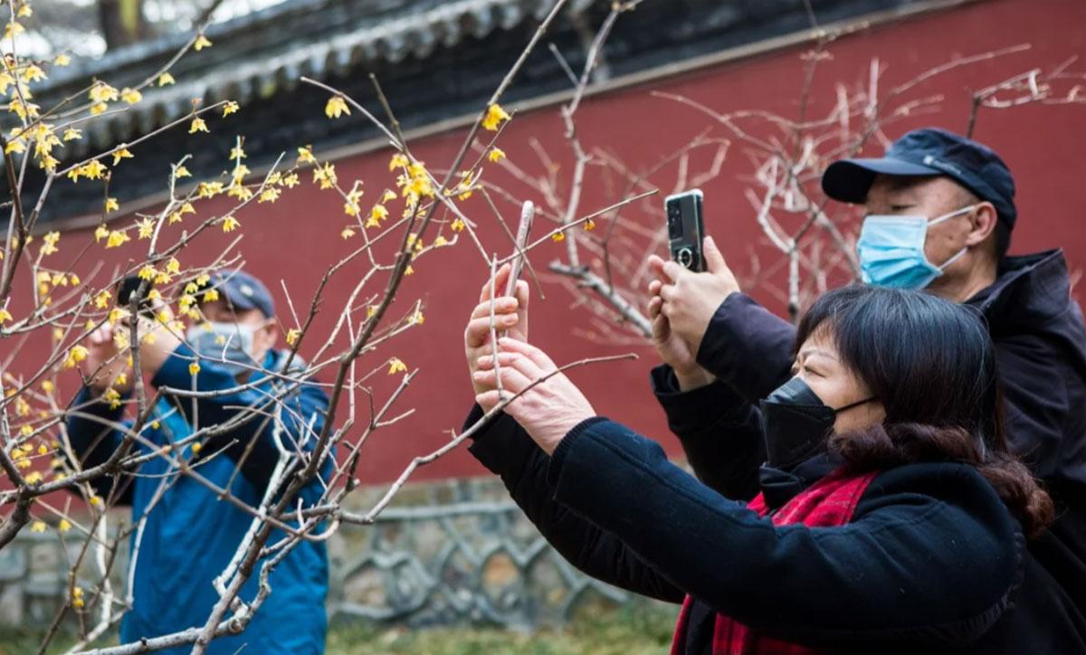 Tại đại lục, 10 điểm đến hàng đầu được mọi người ghé thăm dịp này là Thượng Hải, Bắc Kinh, đảo Hải Nam, Quảng Châu, Thành Đô, Trùng Khánh, Tây An, Hạ Môn, Hàng Châu, Thâm Quyến. Ảnh: Xinhua