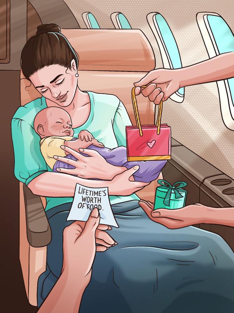 Điều gì xảy ra khi hành khách sinh con trên máy bay? - 10