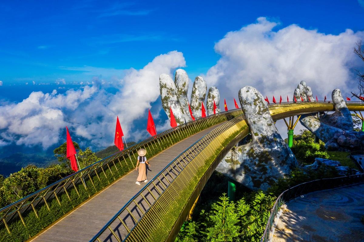 Đà Nẵng (ảnh) là điểm đến yêu thích nhất của du khách Hà Nội. Du khách từ TP HCM bị thu hút bởi Lâm Đồng, Kiên Giang. Ảnh: Shutterstock
