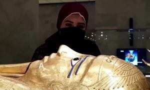 Nơi khách ngồi ăn cùng xác ướp Ai Cập