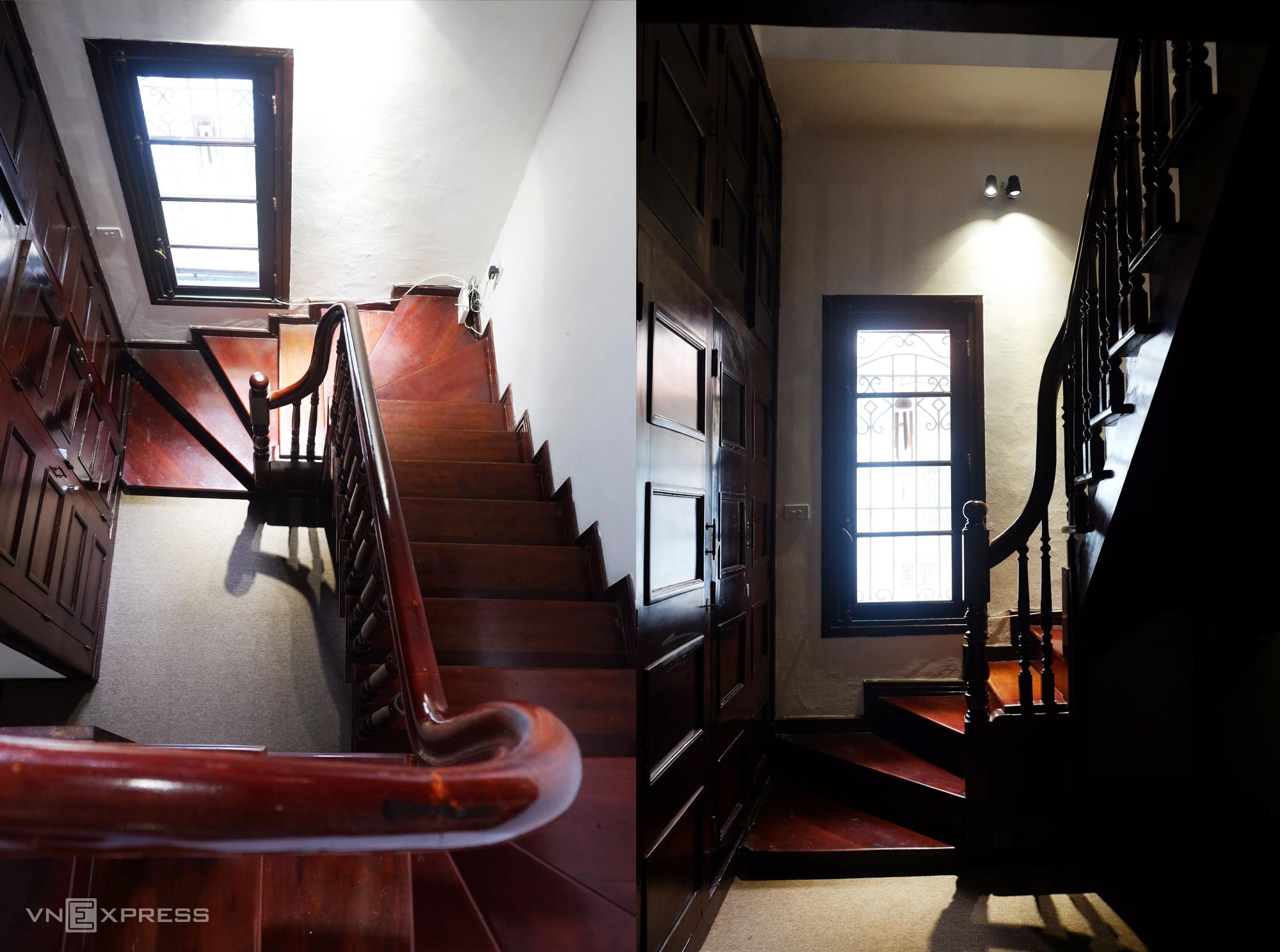 Cầu thang đi lên tầng