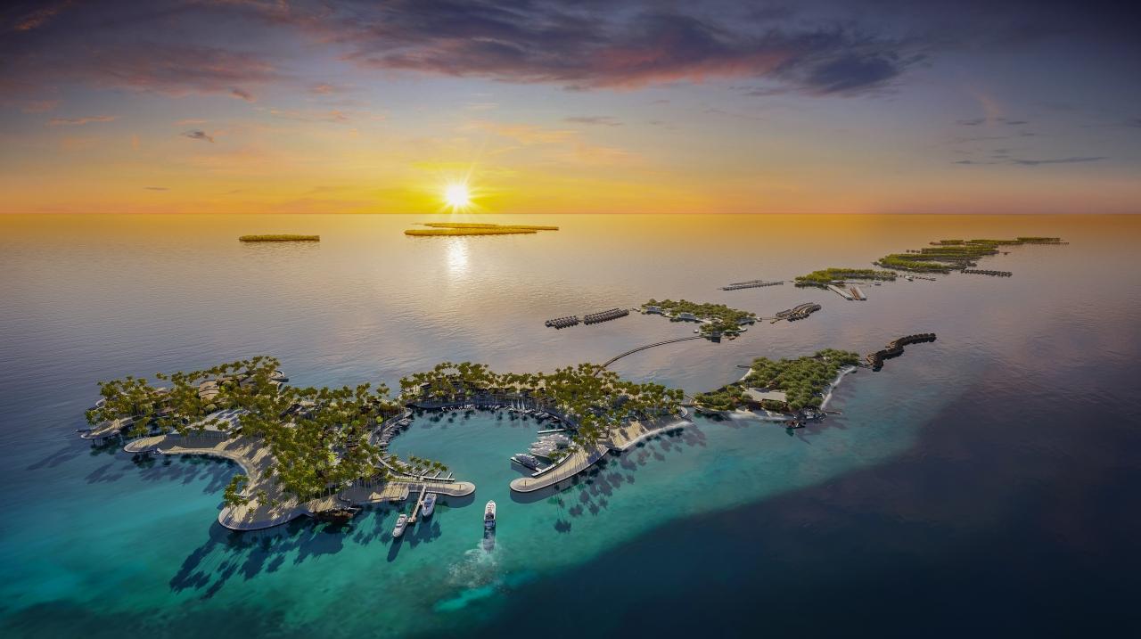 Đảo quốc được mệnh danh là thiên đường du lịch với biển và các hòn đảo được dự đoán sẽ biến mất vào năm 2100. Ảnh: Singha Estate