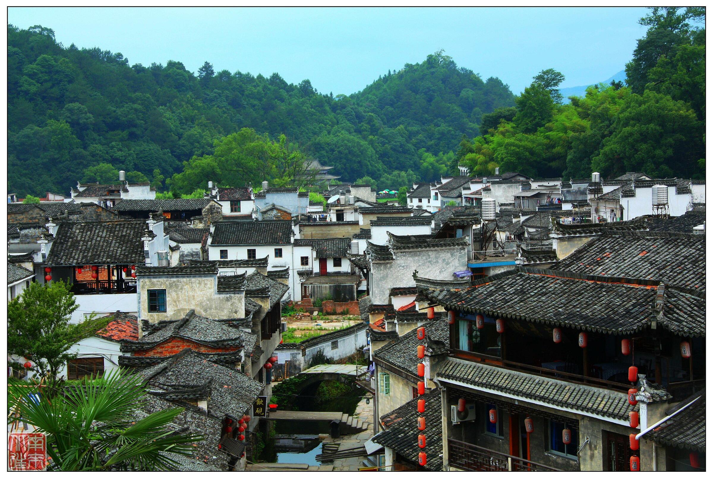 Phong thuỷ những làng cổ chống cháy tại Trung Quốc - 5