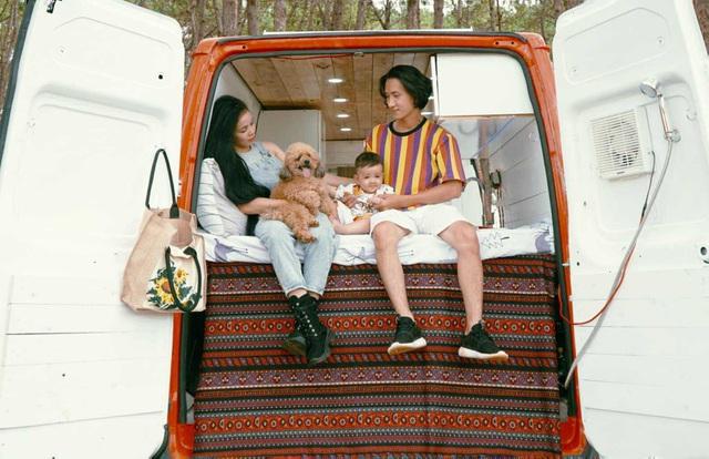 Chiếc xe của gia đình Hà My được cải tạo với tổng chi phí 220 triệu đồng. Ảnh: NVCC.