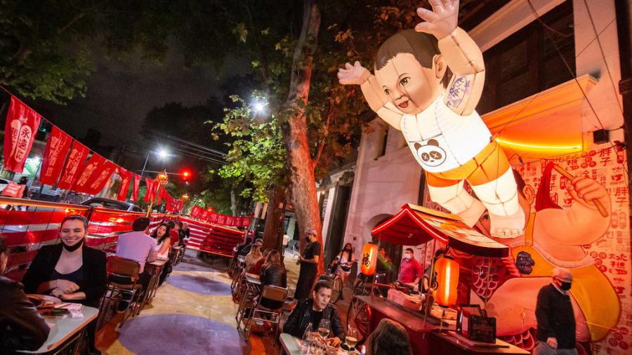 Vị trí cuối cùng thuộc về Calle Thames, Buenos Aires, Argentina. Ảnh: Sorrel Moseley-Williams/CNN