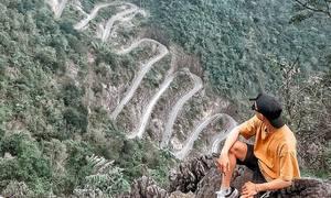 Con đèo 14 khúc cua ở Cao Bằng