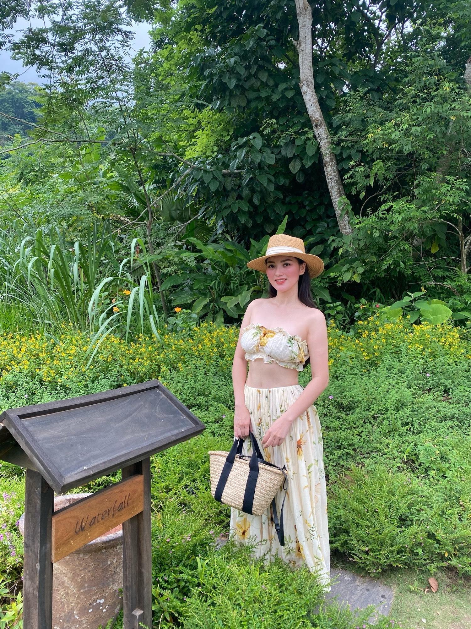 Các khu nghỉ dưỡng biệt lập gần thiên nhiên cũng được nhiều du khách Hà Nội lựa chọn. Ảnh: Nguyễn Thu Hương.