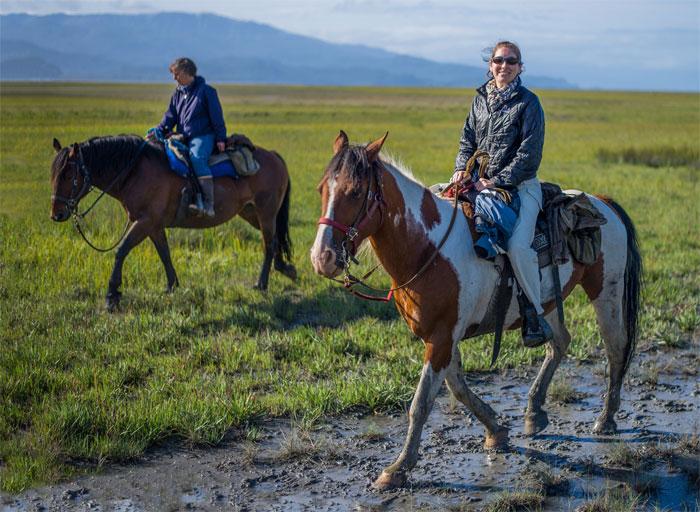 Nước Anh có nằm trong London không? Dân Anh vẫn cưỡi ngựa đi vòng quanh châu Âu phải không là một câu hỏi hóc búa mà một du khách Mỹ đã hỏi khi đến Anh. Ảnh: Andrew Rusell/Flickr