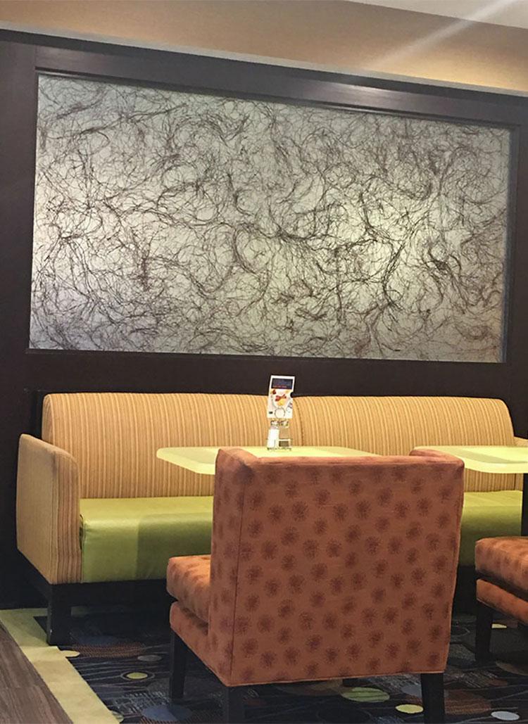 Còn đây là một bức tranh được trang trí tại sảnh lớn của một khách sạn mà du khách Big Boss từng có dịp ghé qua. Anh cho biết bức tranh khiến anh không nói nên lời. Ảnh: Big Boss 100/Reddit
