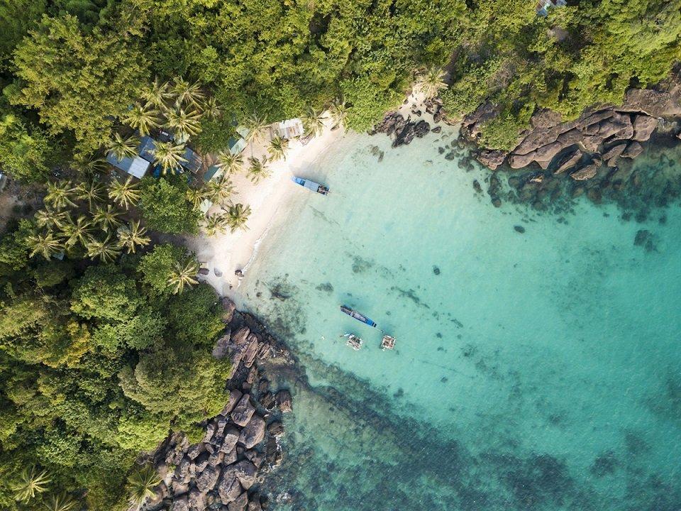 Phú Quốc – Một trong những điểm dừng chân lý tưởng nhất vịnh Thái Lan.
